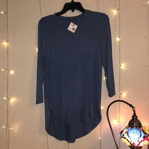 MADISON - Periwinkle/blue top